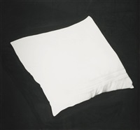 untitled (pillow from consulting room couch, 1938) (from the freud drawing series) by robert longo