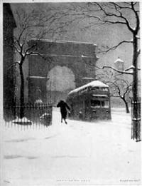 washington arch by ellison hoover