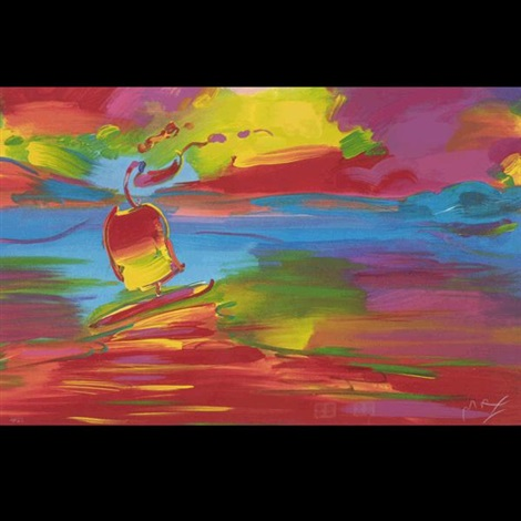 open sail by peter max