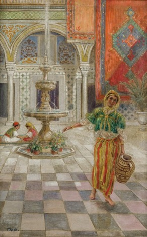 tunisienne au patio by salomon taib