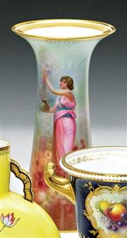 a vase by arthur leslie