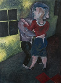 dancing couple by jock mcfadyen