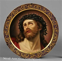 christ with the crown of thorns by h stadler