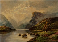 mountain mist over the mountains by thomas c. blake