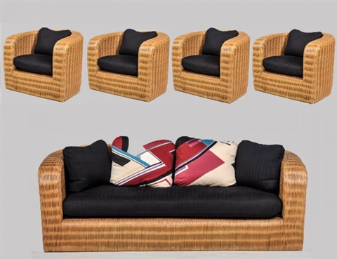 Furniture Suite (set Of 5) By Karl Springer