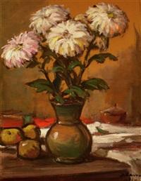 chrysanthemums by janis lauva