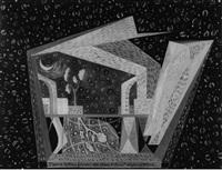 i scena teatrino futurista al chiaro di luna by agibecifuturista