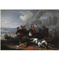 scena di battaglia by antonio calza