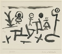 kinder und abstractes (children and abstractions) by paul klee