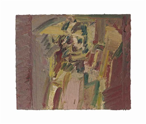 ruth bromberg seated by frank auerbach
