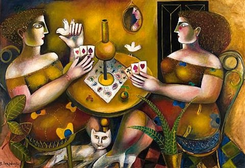 playing cards by vassilis sperantzas
