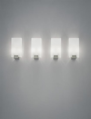 Set Of Four Wall Lights By Jacques Quinet
