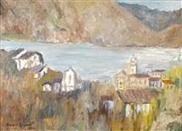 lake scene by emili bosch roger