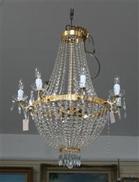 chandelier by swarovski (co.)