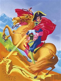 bonaparte by peter saul