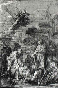 mise au tombeau de sainte agnès by antoine rivalz