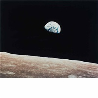 earthrise, apollo 8, 24 december by william anders