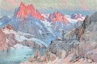 le refuge, massif de belledonne dauphiné by émile appay