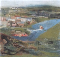 dorf am fluss by marguerite ammann