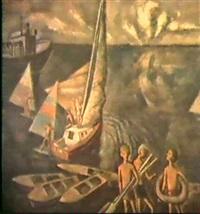 la baignade by vladimir alferov