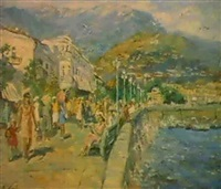 le quai a yalta by lidia davidenkova