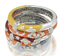 bangles (set of 5) by la nouvelle bague