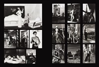 fifteen photographs (15 works) by helmut newton