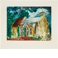 sheet 22 5/8 x 26 3/4 inches; 575 x 679 mm by john piper