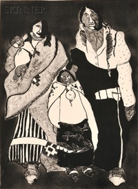 american family by fritz scholder