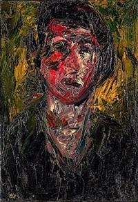 portrait (+ pintade, lrgr; 2 works) by michel aubert