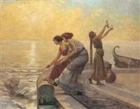 le giovani pescatrici by emilio vasarri