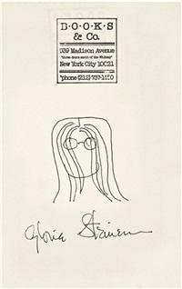 self-portrait by gloria steinem