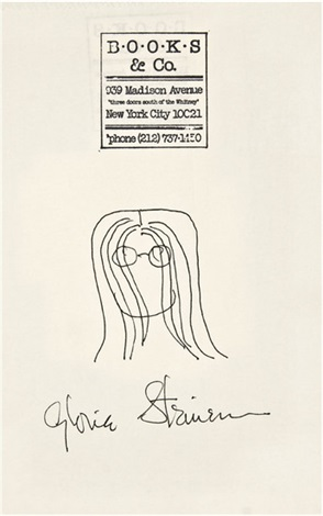 self portrait by gloria steinem