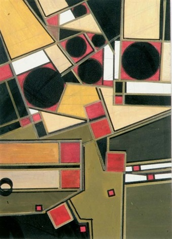 composition abstraite by carlos caceres sobrea