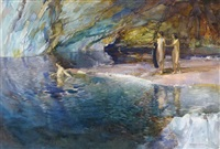 the swimmer by william russell flint