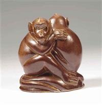 two monkeys by joseph mendes da costa