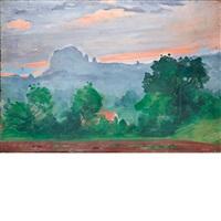 tepoztlan landscape iii by paul resika