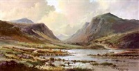 the gap of dunloe, killarney by r. b. higgins