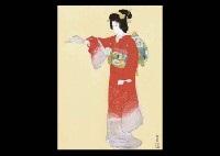jo no mai (+ tsuzumi, smllr; 2 works) by shoen uemura