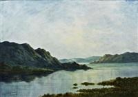 end of the day, kylemore, connemara by douglas alexander