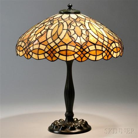 Mosaic Glass Table Lamp By Duffner U0026 Kimberly