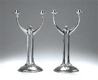 kerzenleuchter (pair) by albinmüller