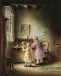 twee kinderen by herman jacobs