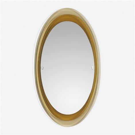 Mirror model 2046 by fontana arte on artnet for Miroir 50 x 90