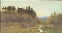 meadow twilight by fritz b. althaus