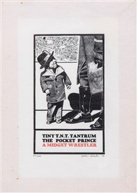 tiny t.n.t tantrum the pocket prince a midget wrestler by peter blake