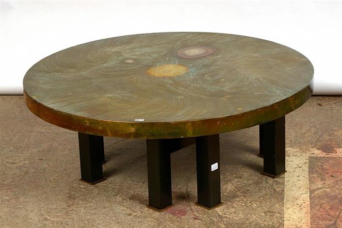 Table De Salon Ronde By Fernand Dresse On Artnet