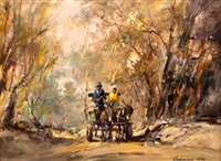 donkey cart by christiaan nice
