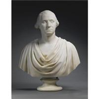bust of george washington by hiram powers