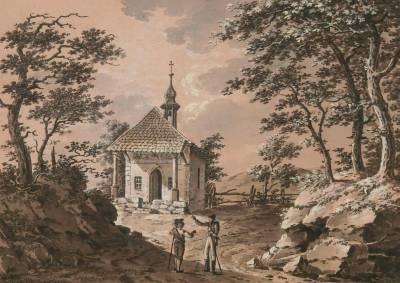 la chapelle de guiltell prés kussnacht by johann conrad gessner